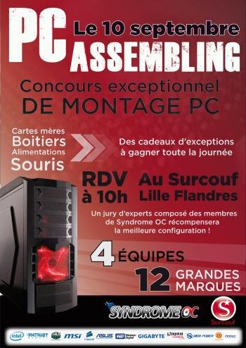 Surcouf Syndrome OC PC Assembling Lille