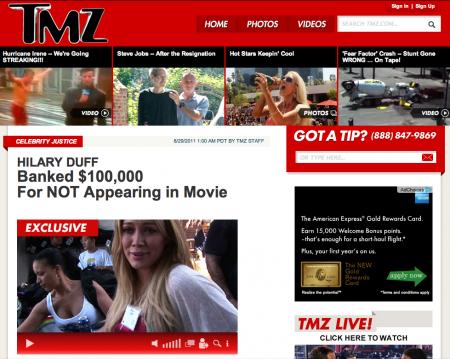 TMZ Steve jobs