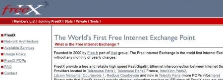 free freeix peering