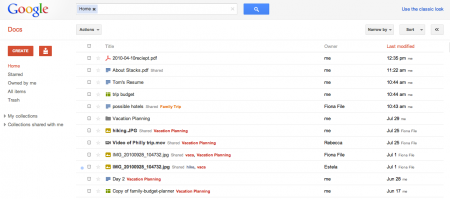 Google Docs 2011