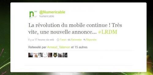 free numéricable revolution du mobile