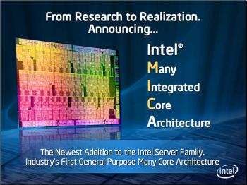 Many Integrated Core