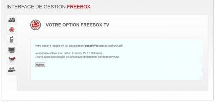 option TV ADSL Free ADSLTV TNT