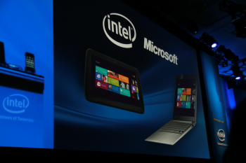 Intel IDF 2011 Otellini Keynote Windows 8