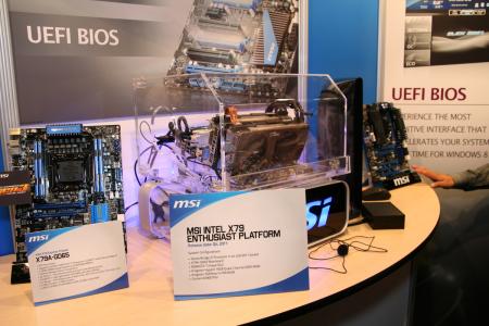 Intel IDF 2011 MSI X79