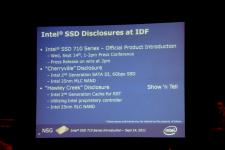 Intel IDF 2011 SSD Grand Public