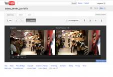 YouTube traitement vidéo