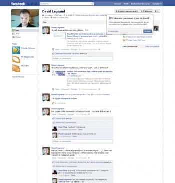 Facebook Profil David