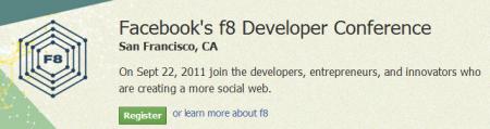 Facebook conférence F8