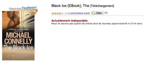 Amazon Kindle Store France