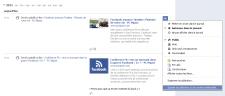 Facebook Timeline Activités