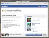 Facebook Deezer Timeline