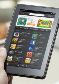 Tablette tactile Amazon Kindle Fire