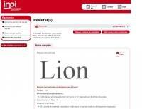 lion circus apple INPI marque