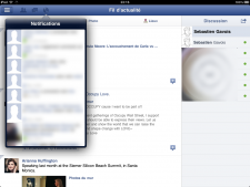 Facebook for iPad