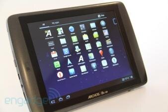 Archos A80 G9 Engadget