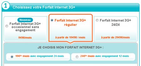 Forfaits 3G+ Bouygues Telecom