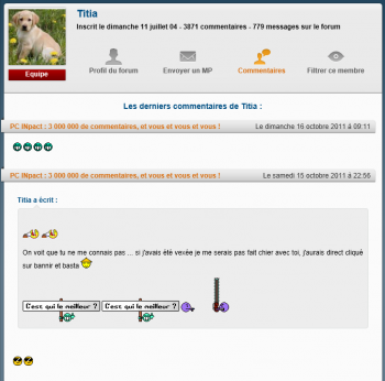 PCi V5 beta profils