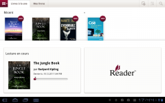 Sony Tablet S reader Apps