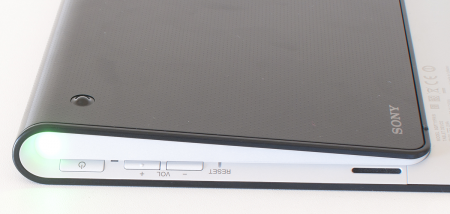 Sony Tablet S bouton
