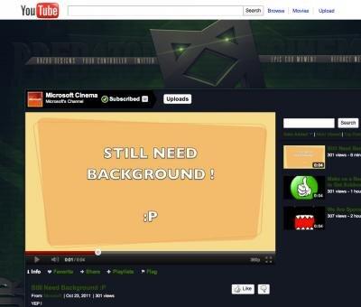 microsoft youtube