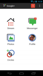 Google+ Android 2.1