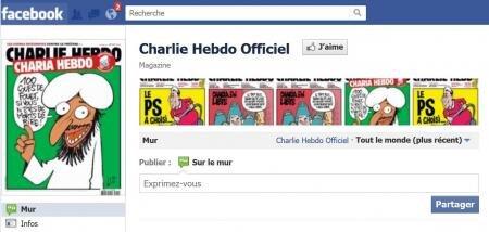 Charlie Hebdo piraté