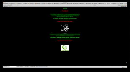 cyber warrior charliehebdo.fr
