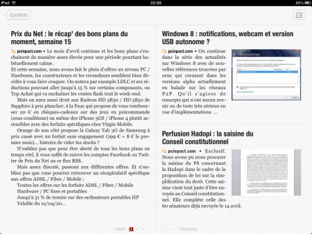 Flipboard iPad