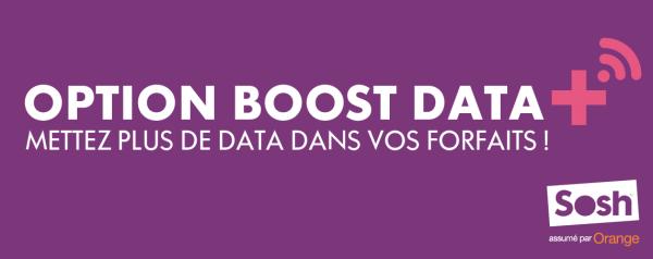 Sosh Boosts Data option 3G