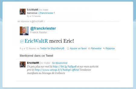 Franck Riester Eric Walter