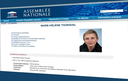 Copie Privée Marie-Hélène Thoreval UMP