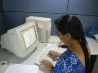Femmes ordinateur