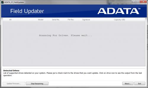ADATA SSD Mise à jour firmware