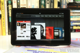 Kindle Fire The Verge