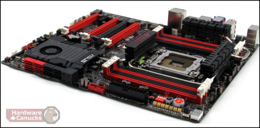 X79 Rampage IV Extreme d'Asus Hardware Canucks