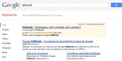 adwords google LCEN responsabilité