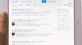 Google Search iPad