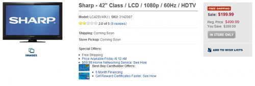 Sharp Best Buy