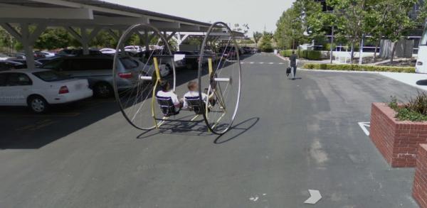Google street View Montain view locaux