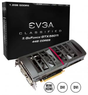 EVGA GTX 560 ti 448 FTW Classified
