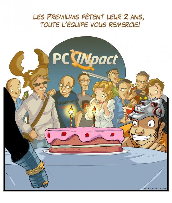 Geek Pic équipe anniversaire 2 ans Premium