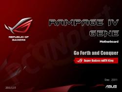 Rampage IV Gene Slides