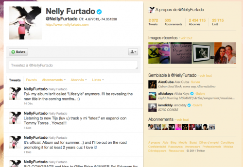nelly furtado twitter