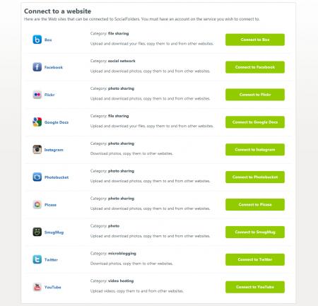 Social Folders Services