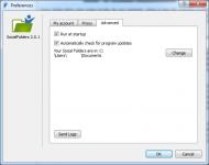 Social Folders Prerefences