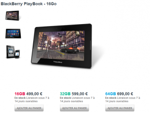 BlackBerry PlayBook (FR)
