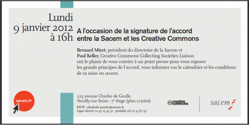 invitation sacem creative commons
