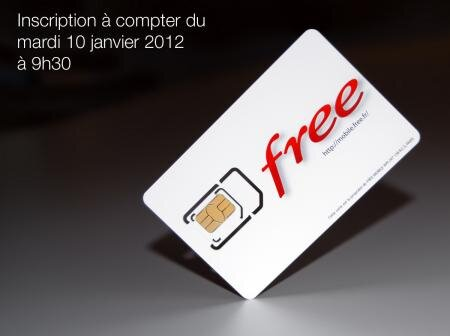 Free Mobile inscription prix tarif
