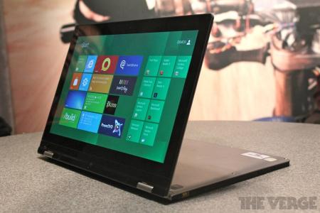 Lenovo Yoga Ultrabook tactile